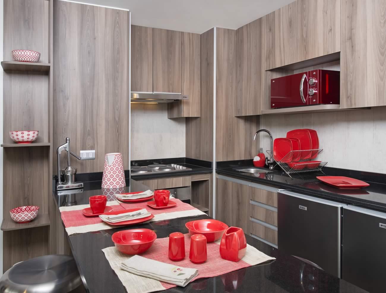 Los tipos de cocina en departamentos y casas